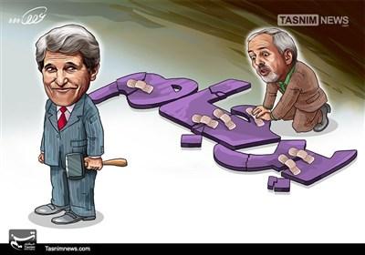 کاریکاتور/ مسئولان باید از آمریکا قطع امید کنند