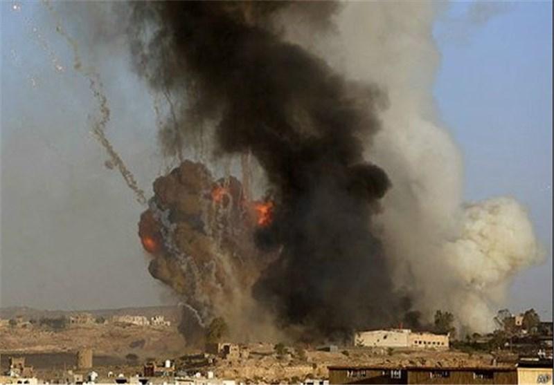 قصف صاروخی ومدفعی یدک تجمعات قوى الغزو والاحتلال فی الیمن