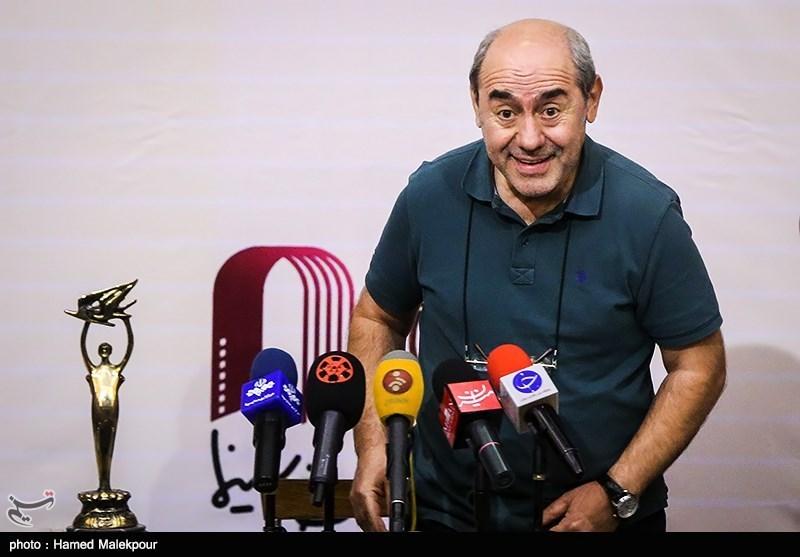 ورود کمال تبریزی دبیر هجدهمین جشن سینمای ایران به محل نشست خبری