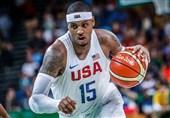 جام جهانی بسکتبال| آنتونی را به تیم ملی آمریکا راه ندادند!