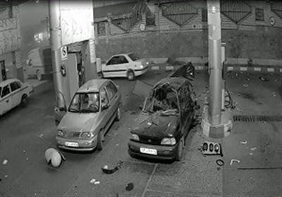 انفجار مخزن گاز پراید با یک کشته