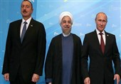 روحانی پوتین علی اف