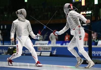 اتفاقی عجیب در مسابقات شمشیر بازیِ المپیک
