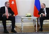 دیدار روسای جمهور ترکیه و روسیه/ اردوغان: از نگاه مثبت پوتین به منطقه امن در سوریه خرسندیم