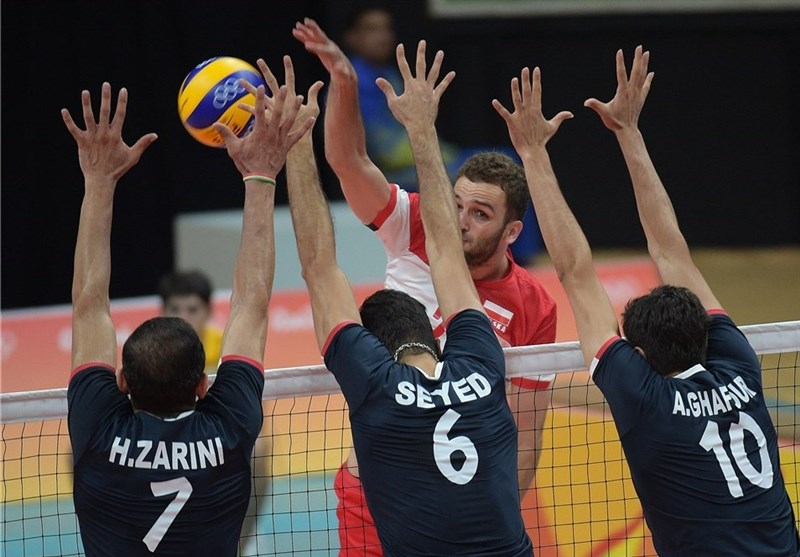 شکست دراماتیک والیبالیستهای ایران مقابل لهستان/ ثبت اولین امتیاز المپیکی ایران و درگیری در پایان بازی