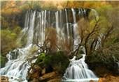 لرستان سرزمین آبشارهای خروشان/تلألو آب در دل سنگ و صخره+ عکس و فیلم