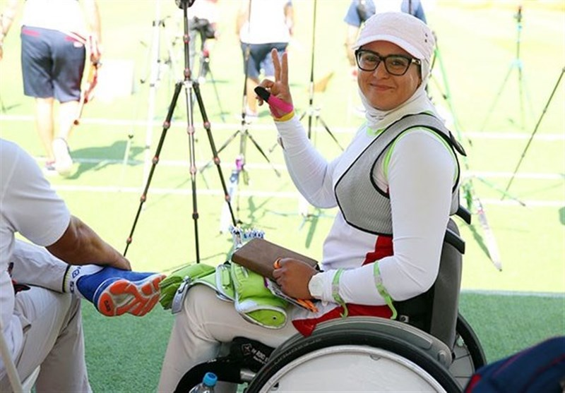 Iran's Nemati Wins Gold Medal at World Archery Para Championships