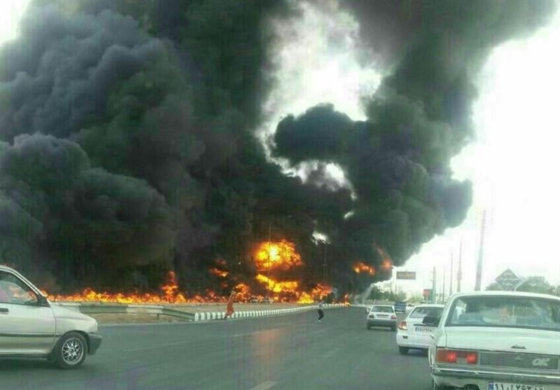 بوشهر| آتشسوزی پژو پارس در محور عسلویه 6 نفر را به کام مرگ کشید