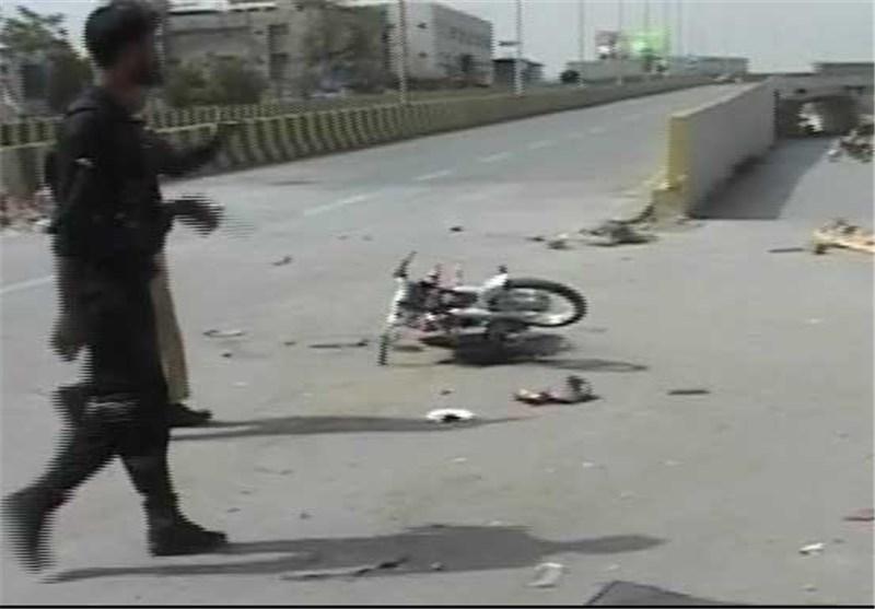 انفجار کویته روی پل