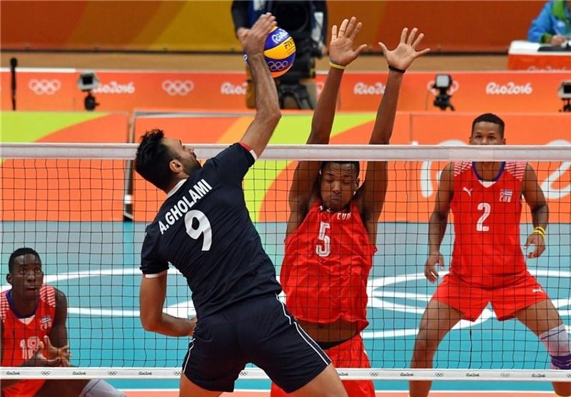 فیلم/ دیدار تیمهای ملی والیبال ایران و کوبا