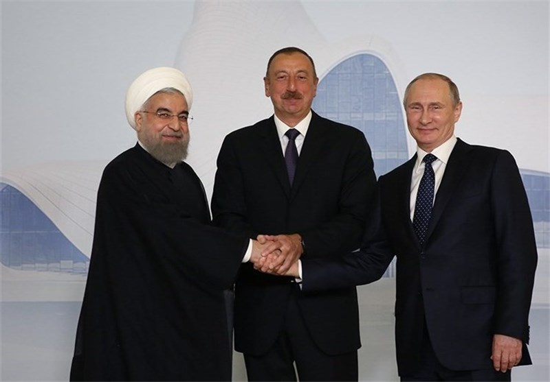 روسیه، ایران و آذربایجان