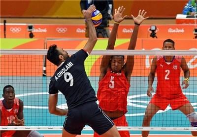 برتری 3 بر صفر والیبال ایران برابر کوبا