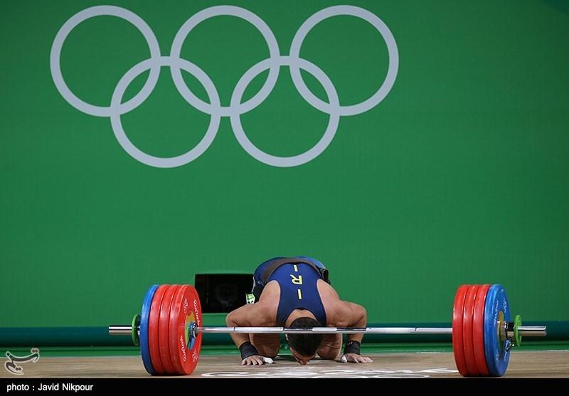 اولین طلای ایران در المپیک 2016 ریو / مسابقات وزنه برداری 85 کیلوگرم