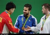 کیانوش رستمی مدال طلای المپیک ریو خود را به سردار سلیمانی تقدیم کرد