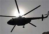 سقوط هلیکوپتر در فرودگاه ایلام تلفات جانی نداشت