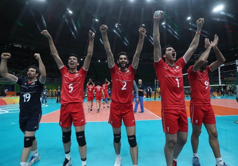 Iran Volleyball Team to Play Poland, Slovenia