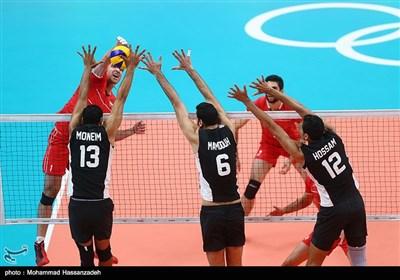 منتخب إیران لکرة الطائرة یتأهل للدور ربع النهائی فی أولمبیاد ریو بعد فوزه على نظیره المصری
