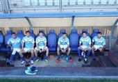 تمرین تیم ملی در ایتالیا