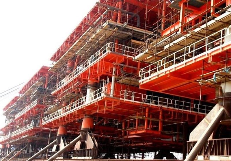 سکوی فازهای 13 و 22 تا 24 پارس جنوبی پیش از برنامه زمانبندی تکمیل میشود
