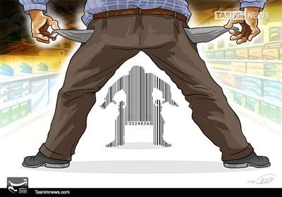 کاریکاتور/ دوئل گرانی و معیشت مردم!!!