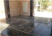 خوزستان| ادای احترام خادمان امام رضا(ع) به هفت لاله بینشان در هفتگل