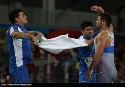 مسابقات کشتی فرنگی وزن 75 کیلو - المپیک ریو 2016