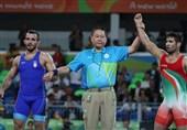 واکنش سجادی بعد از پیروزی عبدولی + عکس