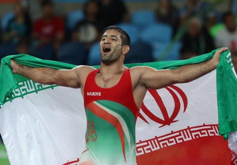 Iran's Saeid Abdevali Moves Up at UWW Rankings