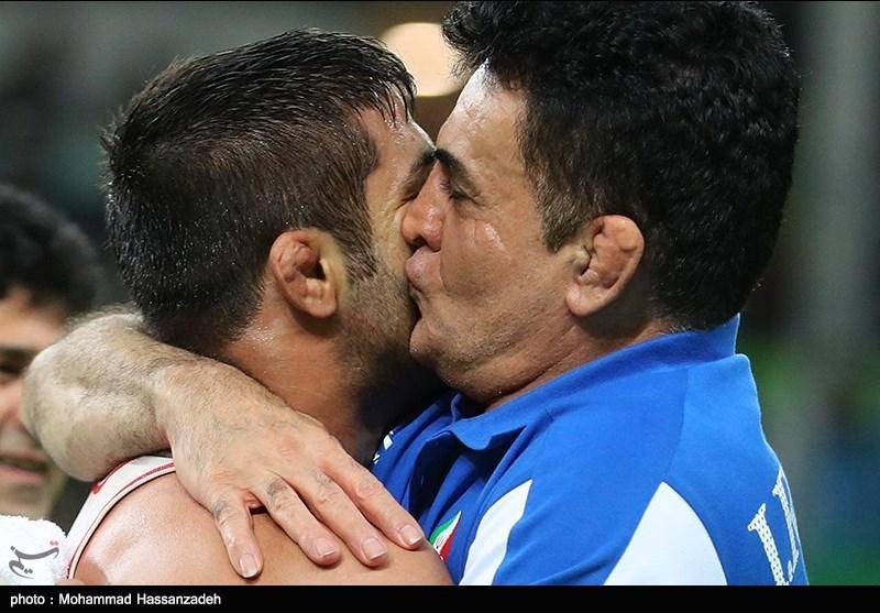 Iran's Greco-Roman Wrestler Abdevali Wins Bronze Medal at Rio