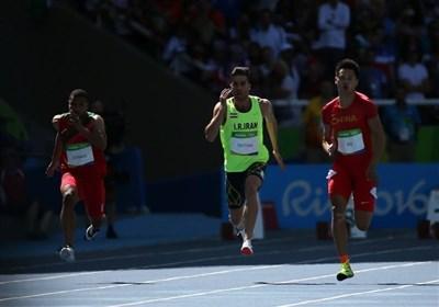 پایان کار تفتیان در المپیک/ دونده 100 متر ایران به فینال نرسید