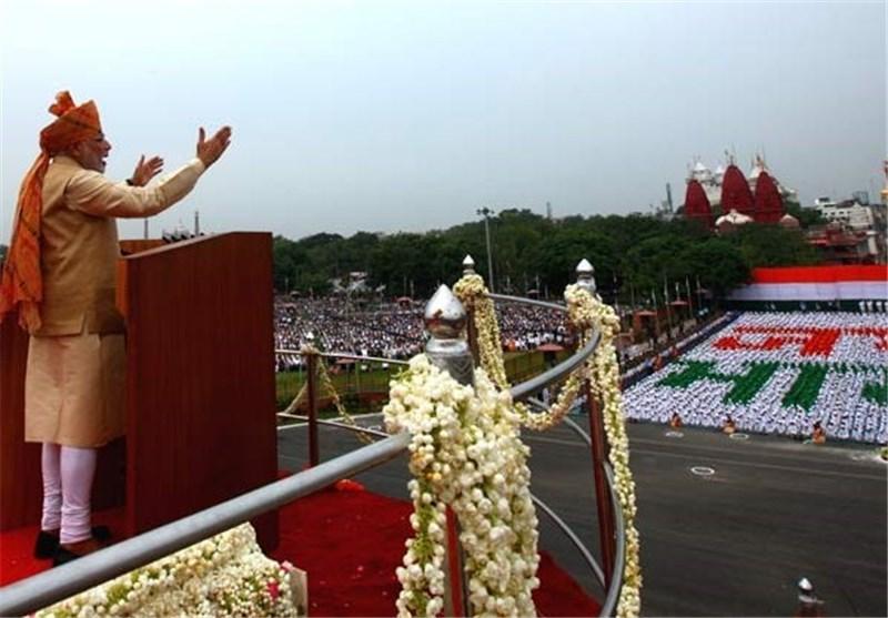 """""""مودی"""" کا جشن آزادی کے موقع پر بھی پاکستان کیخلاف ہرزہ سرائی"""