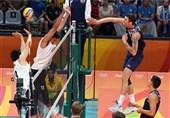پیروزی والیبال آمریکا با قضاوت شاهمیری
