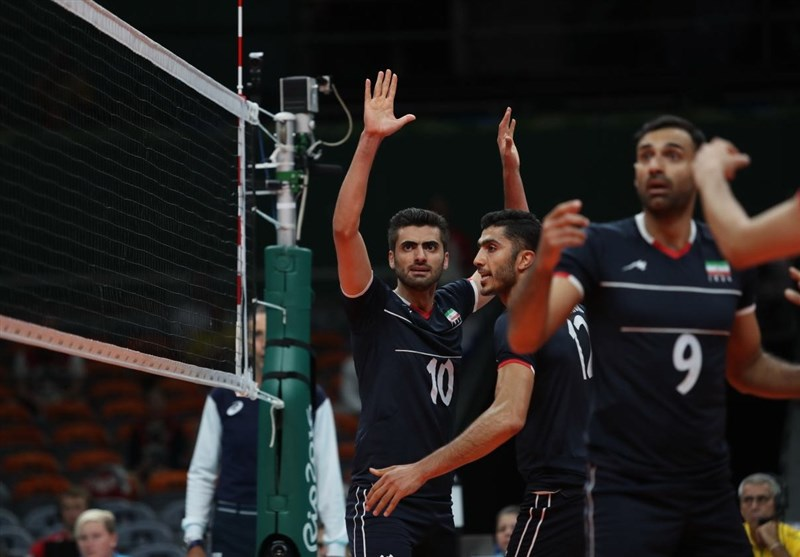 تغییر ساعت دیدار والیبال ایران - ایتالیا در یک چهارم نهایی المپیک