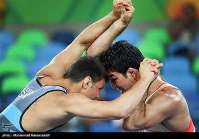 Iranian Wrestler Akhlaghi Out of Rio