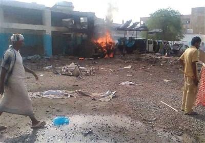 مجزرة سعودیة فی مستشفى عبس بحجة