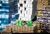 امحای 400 تن کالای قاچاق