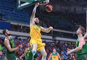جام جهانی بسکتبال استرالیا با برتری مقابل چک به نیمهنهایی راه یافت