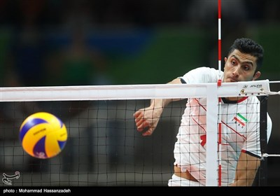 دیدار تیمهای والیبال ایران و ایتالیا - المیپک ریو 2016
