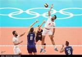 مسابقه والیبال ایران و ایتالیا-المیپک ریو 2016
