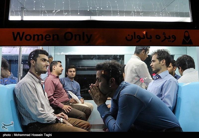 ایستگاه شهید مفتح خط ۲ قطار شهری مشهدمقدس به بهرهبرداری رسید