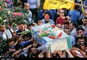 تشییع پیکر شهدای مدافع حرم - شیراز