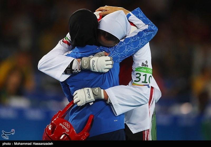 کسب اولین مدال المپیک بانوان ایران توسط کیمیا علیزاده - المپیک ریو 2016