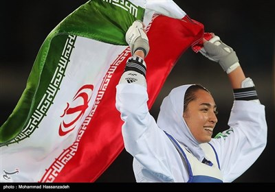 Teen Taekwondo Player Becomes First Iranian Female Olympic Medalist