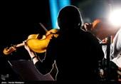 اجرای ارکستر زهی به رهبری لوریس چکناواریان