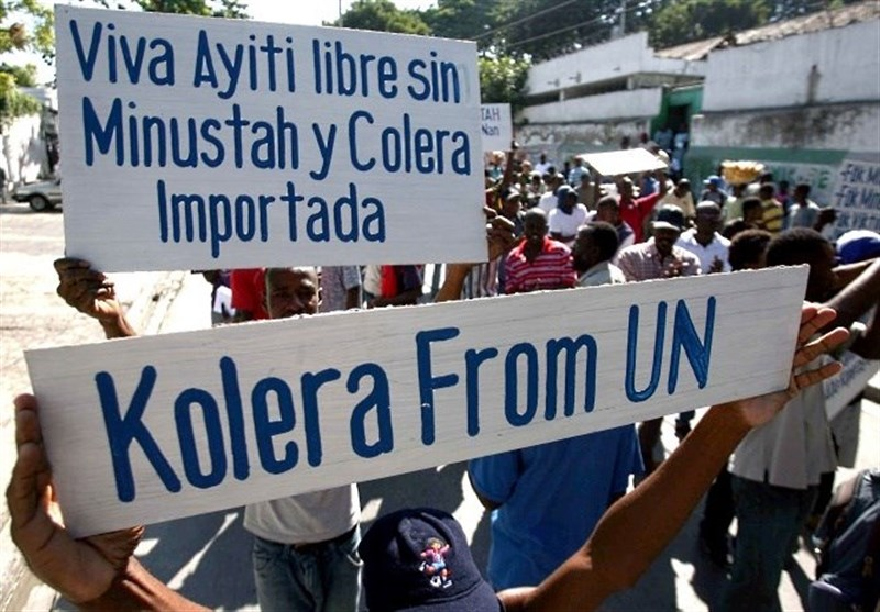 Image result for cholera in haiti