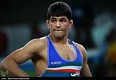 کسب مدال طلای حسن یزدانی در مسابقات کشتی آزاد - المپیک ریو 2016