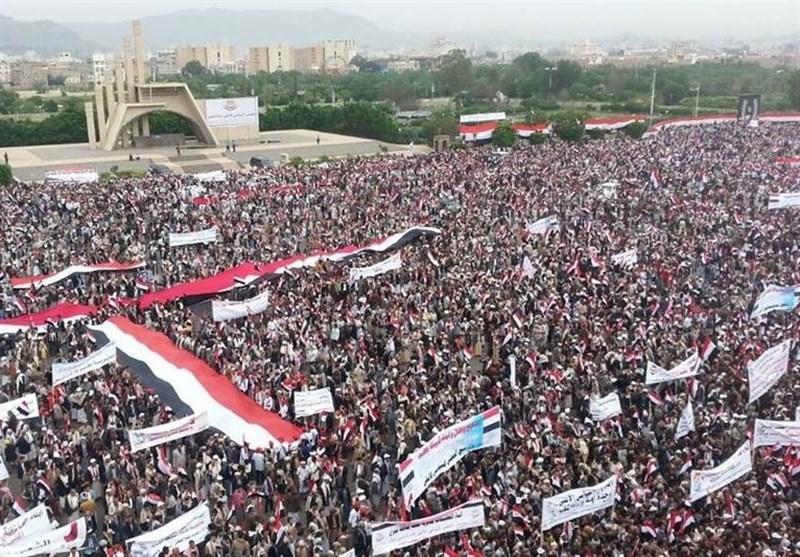 بالفیدیو..ملایین الیمنین یتظاهرون بصنعاء تأییداً للمجلس السیاسی الأعلى
