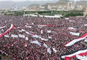 راهپیمایی یمنیها در محکومیت جنایات عربستان