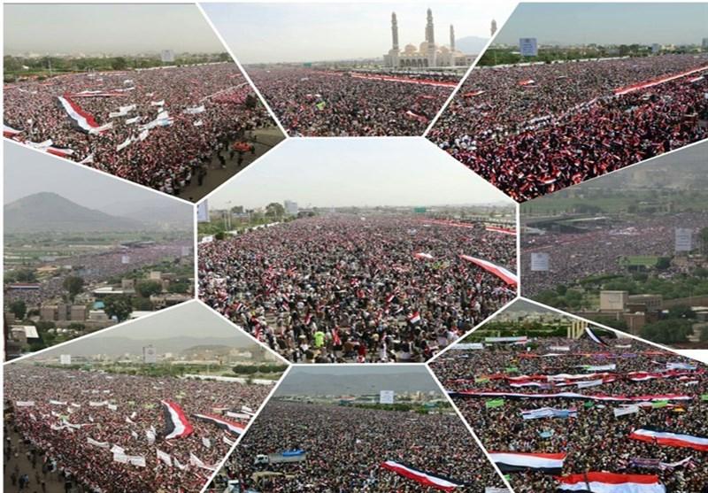 ملایین الیمنیین فی میدان السبعین بصنعاء تأییداً للمجلس السیاسی الأعلى+صور
