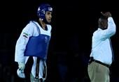مسابقات تکواندو گرنداِسلم| سجاد مردانی فینالیست شد